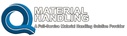 Q Material Handling • Q Material Handling is a dealer and installer of wire shelving, steel shelving, cleanroom equipment, mezzanines, modular offices, post protectors, wire partitions, lockers, modular cabinets, workbenches, workstations, hydraulic lift equipment, and more.